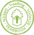 tree ring Badge